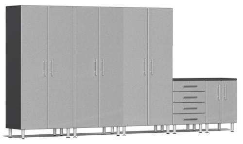 Ulti-MATE Garage 2.0 Series Silver Metallic 5-Piece Set