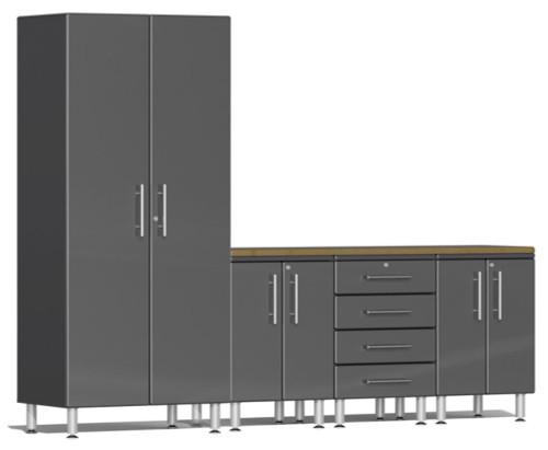 Ulti-MATE Garage 2.0 Series Grey Metallic 5 Piece Set