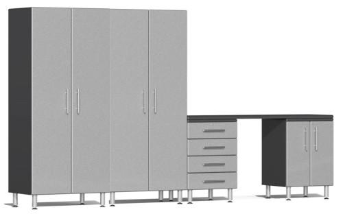 Ulti-MATE Garage 2.0 Series Silver Metallic 5 Piece Kit