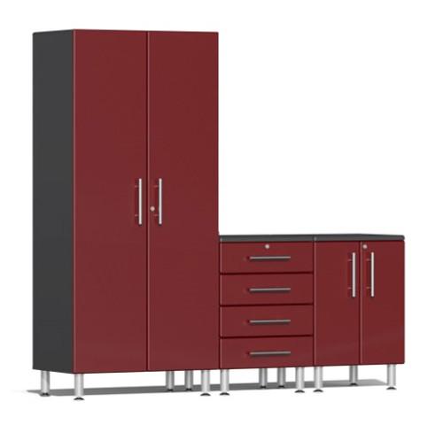 Ulti-MATE Garage 2.0 Series Red Metallic 3-Piece Set