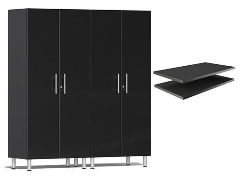 Ulti-MATE Garage 2.0 Series Black Metallic 3-Piece Cabinet Bundle