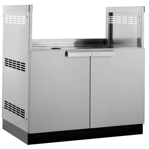 """NewAge Stainless Steel 33""""W x 23""""D Gas Grill Cabinet"""