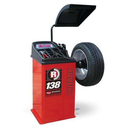 Rotary R138 Shop 2D Wheel Balancer
