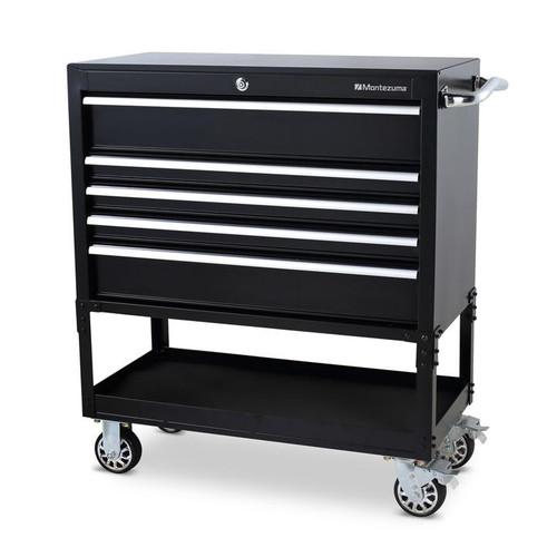 "Montezuma 36"" 5-Drawer Utility Cart"