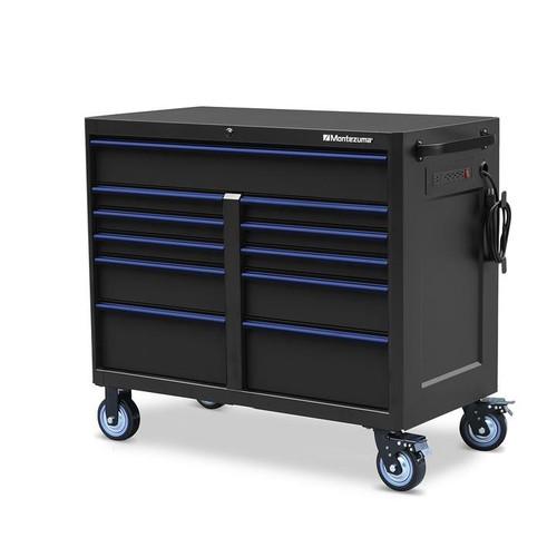 "Montezuma 46"" X 24"" 11-Drawer Roller Cabinet"