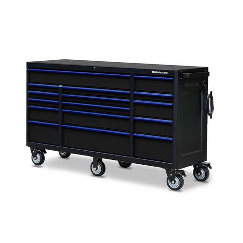 "Montezuma 72"" X 20"" 16-Drawer Roller Cabinet"