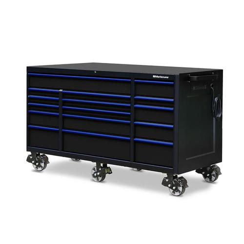 "Montezuma 72"" X 30"" 16-Drawer Roller Cabinet"