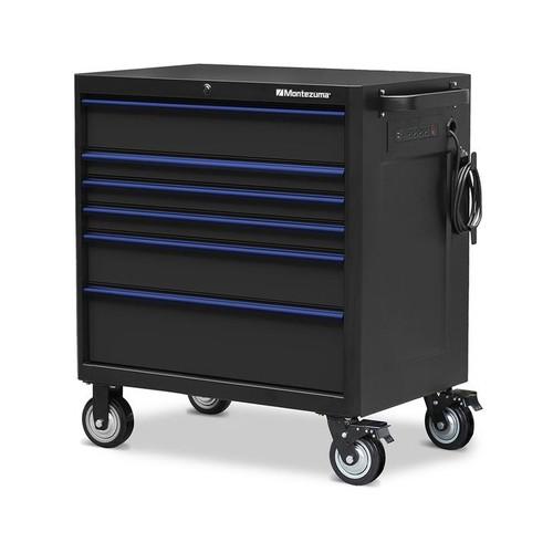 "Montezuma 36"" X 24"" 6-Drawer Roller Cabinet"