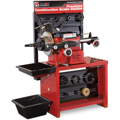 RL-8500 Combination Disc/Drum Brake Lathe with Bench & Standard Tooling