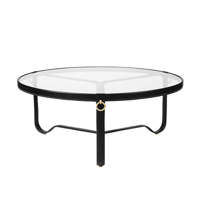 Gubi Adnet Coffee Table 100cm in black