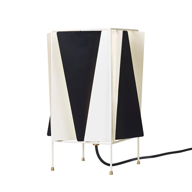 Gubi B-4 Table Lamp in black & white