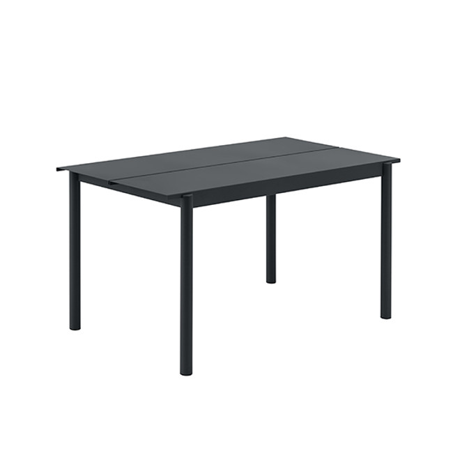 Muuto Linear Steel Table Small in black