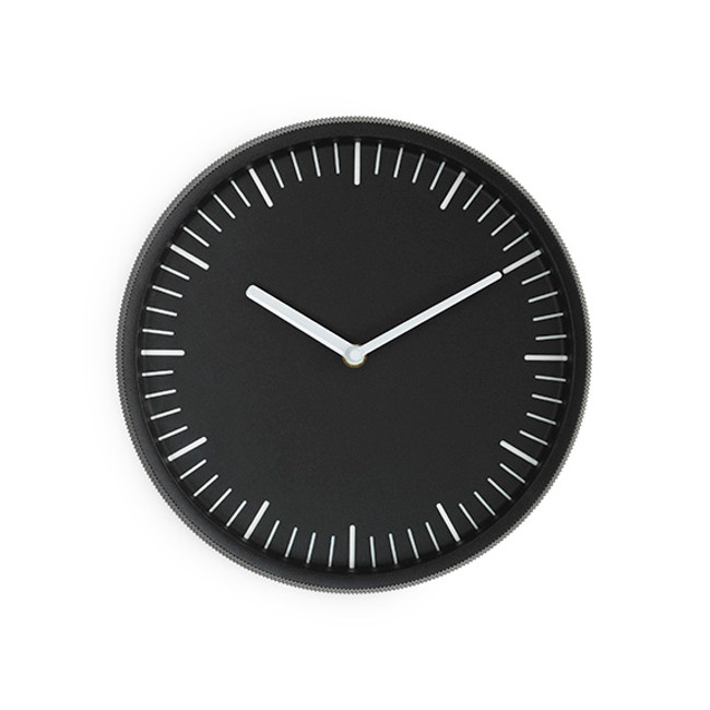 Normann Copenhagen Day Wall Clock in black