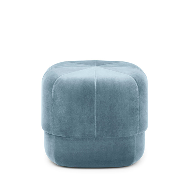 Normann Copenhagen Circus Pouf Small in light blue