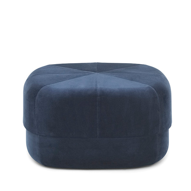 Normann Copenhagen Circus Pouf Large in dark blue