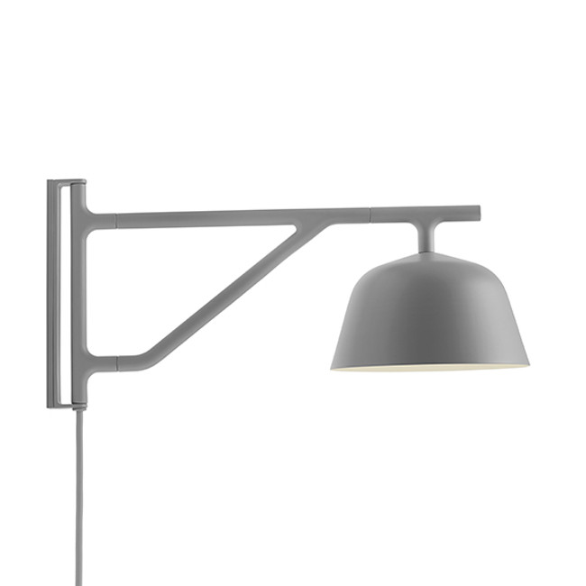 Muuto Ambit Wall Lamp in grey