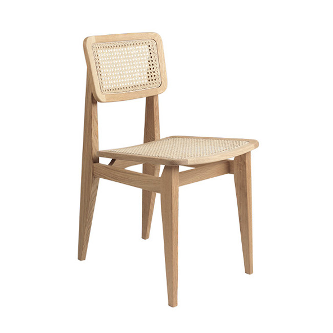 Gubi C-Chair Dining Chair in oak