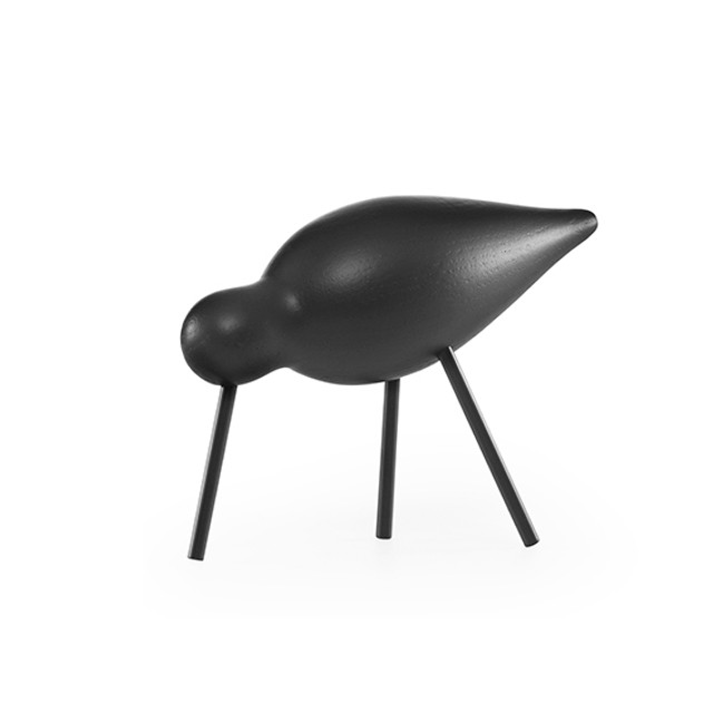 Normann Copenhagen Shorebird in black/black medium