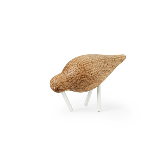 Normann Copenhagen Shorebird in white/oak small