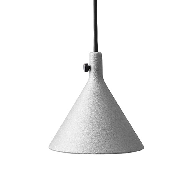 Menu Cast Pendant Shape 1 in Grey