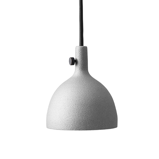Menu Cast Pendant Shape 2 in Grey