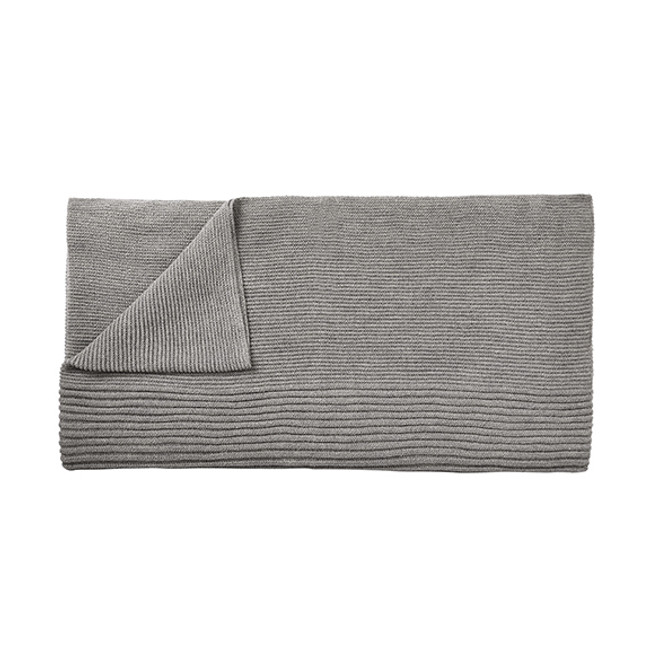 Muuto Rhythm Throw in light grey