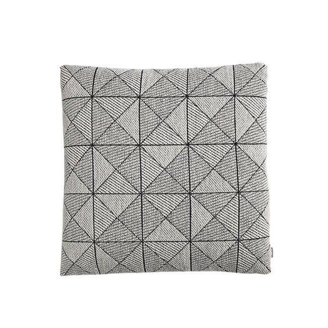 Muuto Tile Cushion in Black/white