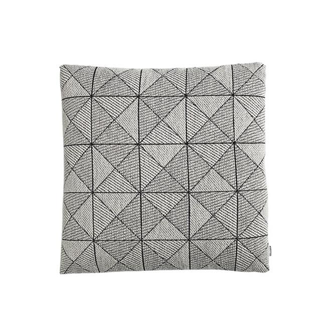 Muuto Tile Cushion in Black/white