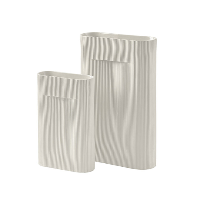 Muuto Ridge Vase Off-White