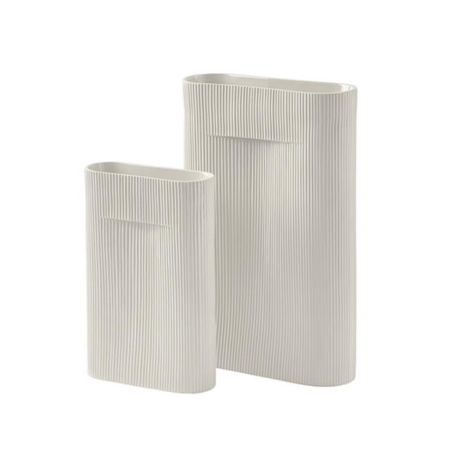 Muuto Ridge Vase Off-White