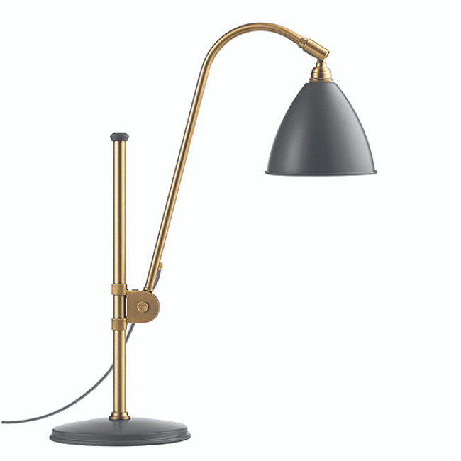 Gubi Bestlite Table Lamp BL1 in grey/brass