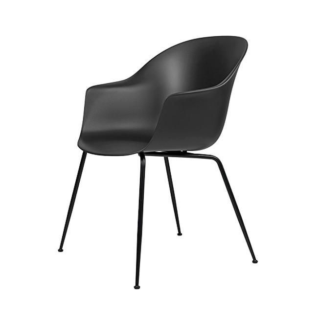 Gubi  |  Bat Dining Chair Conic Base