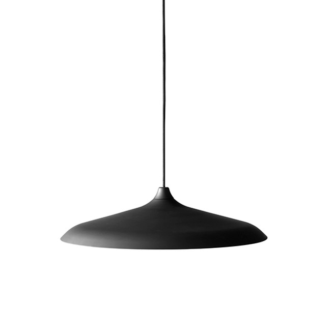 Menu | Circular LED Lamp Black