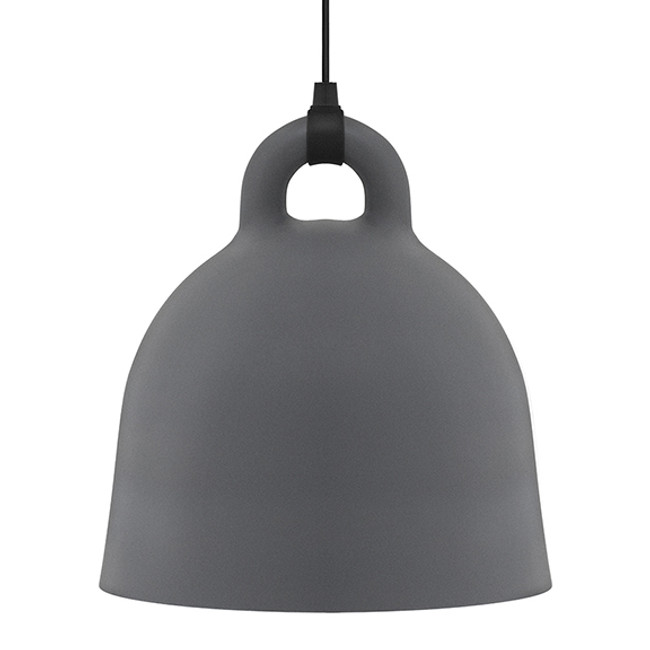 Normann Copenhagen  |  Bell Lamp Grey Large