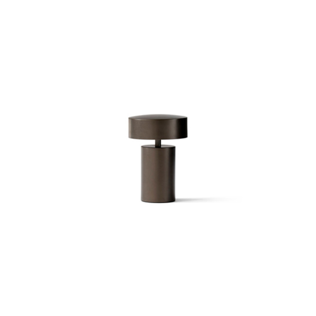 Menu | Column Table Lamp Bronze