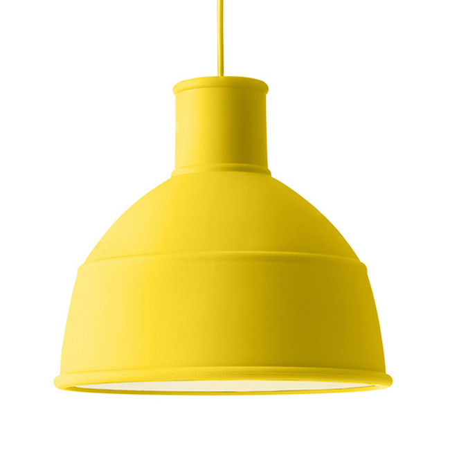 Unfold Lamp in yellow