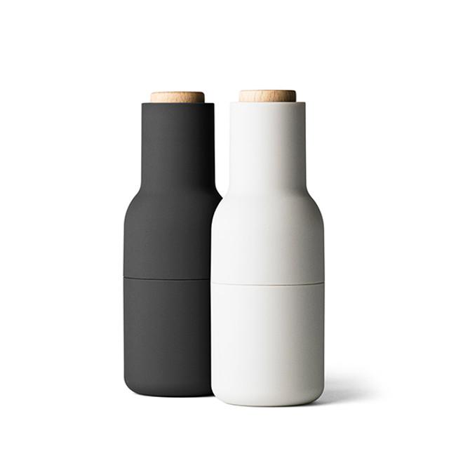 Menu | Bottle Grinder Ash/Carbon