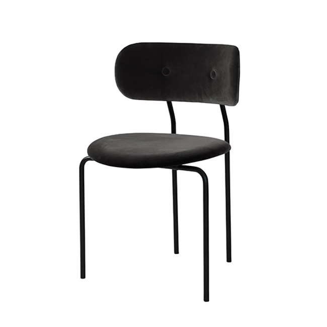 Gubi Coco Dining Chair in Velluto 130