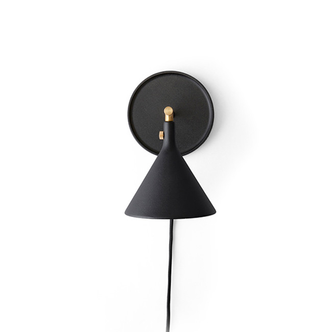 Menu | Cast Sconce Wall Lamp