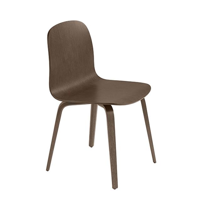 Muuto  |  Visu Chair Stained Dark Brown