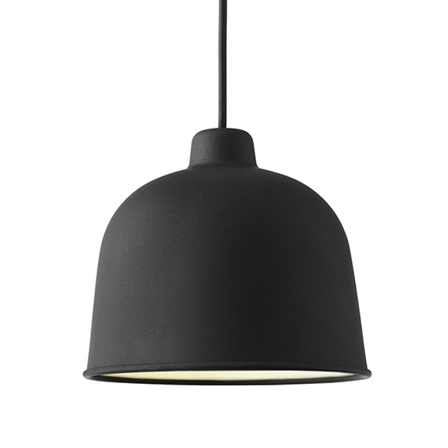 Muuto Grain Pendant in Black