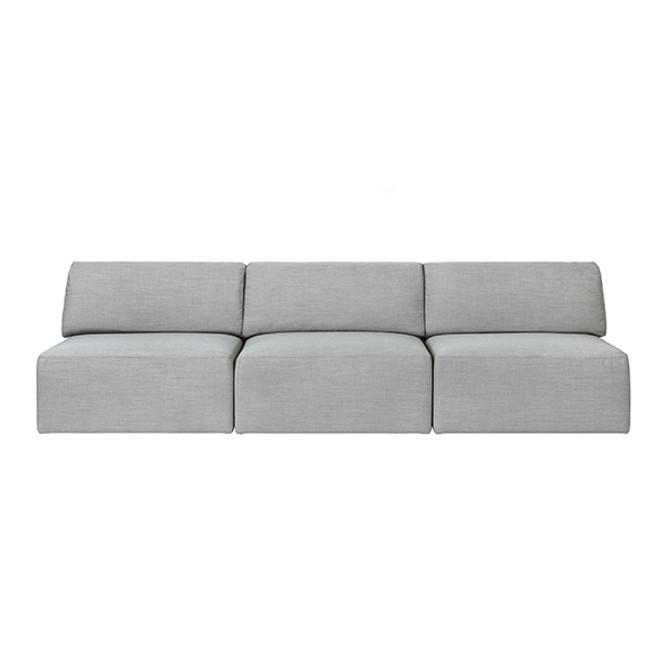 Gubi  |  Wonder Sofa 3-Seater without Armrest