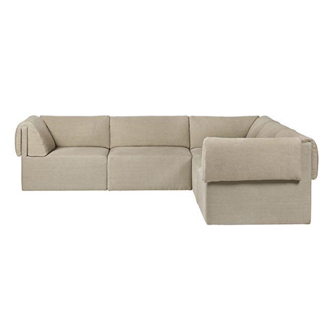 Gubi  |  Wonder Sofa 2x3 Seater