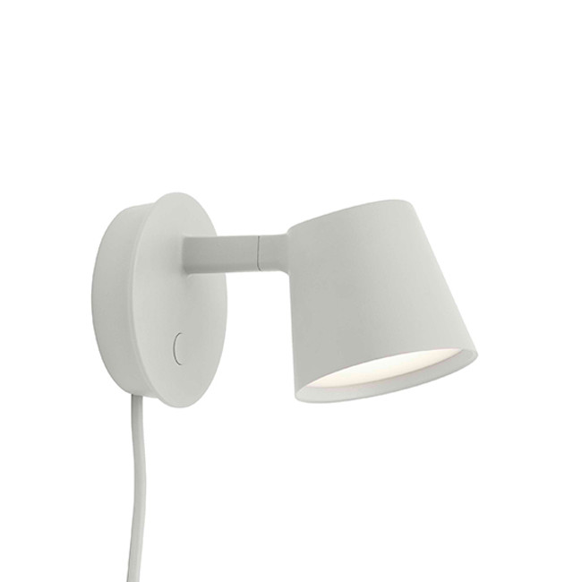 Muuto  |  Tip Wall Lamp Grey