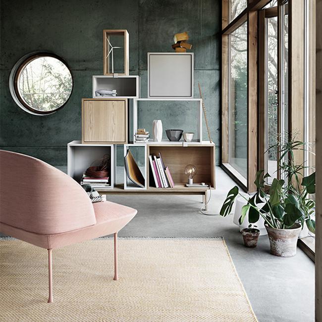 The popular Julien De Smedt's Stacked Shelf System