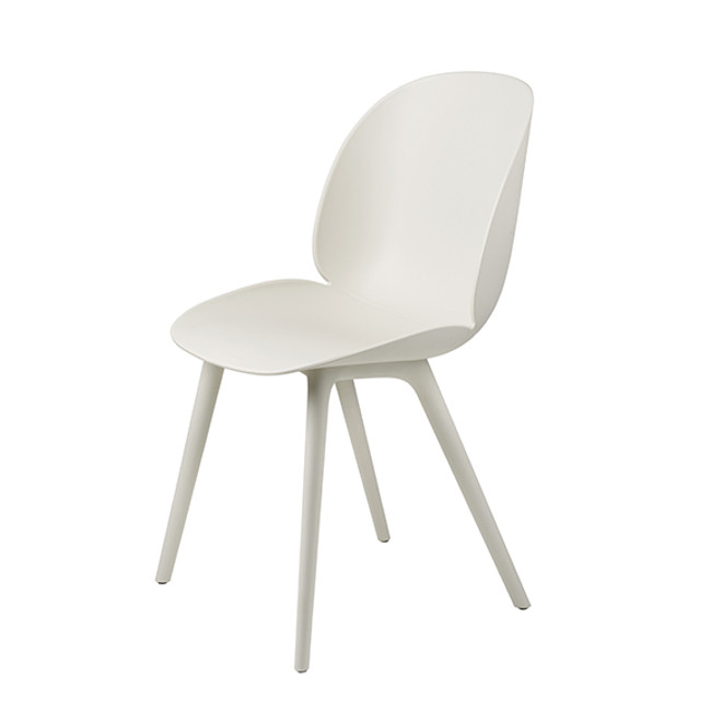 Gubi  |  Beetle Outdoor Dining Chair Plastic Base