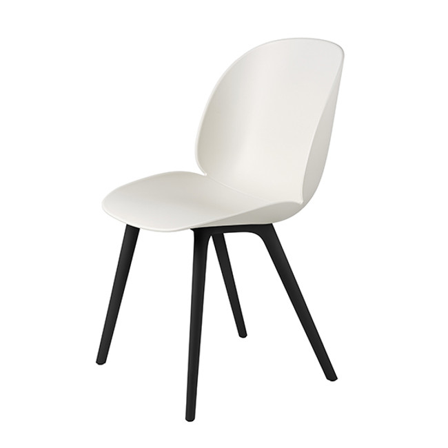 Gubi  |  Beetle Chair Black Plastic Base