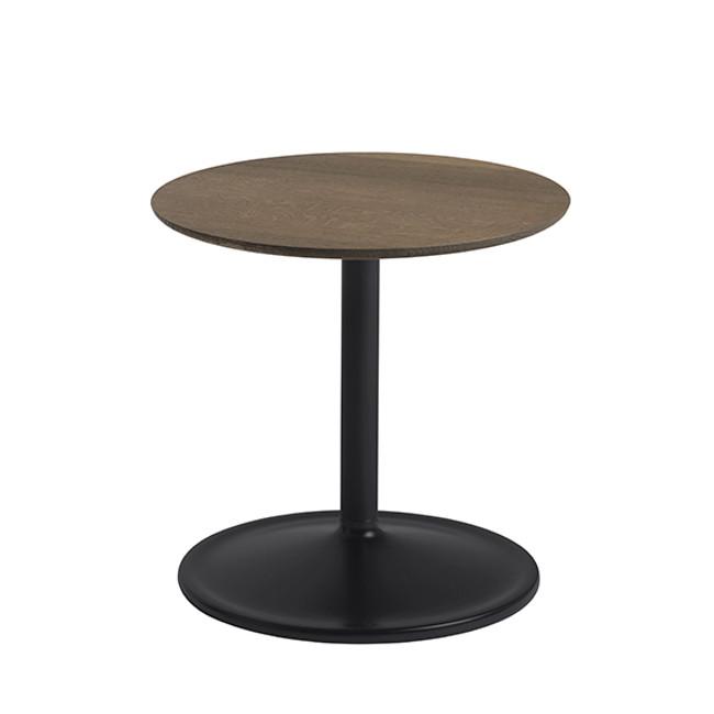 Muuto  |  Soft Side Table Smoked Oak/Black