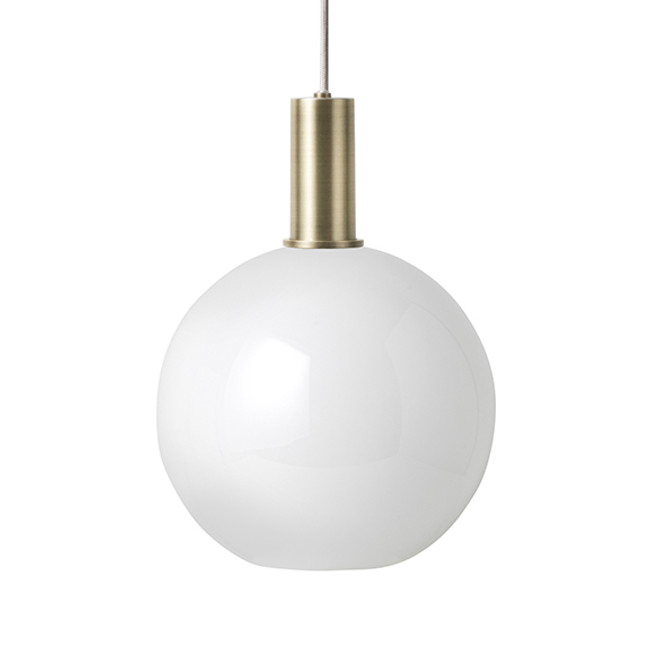 Ferm Living  |  Collect Opal Sphere Brass