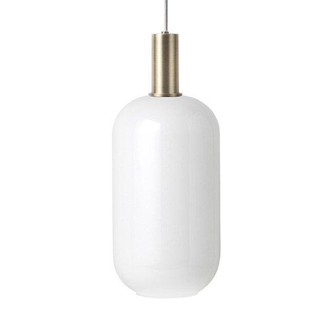 Ferm Living  |  Collect Opal Ellipse Brass